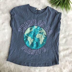 Mango Kids There is No Planet B t-shirt